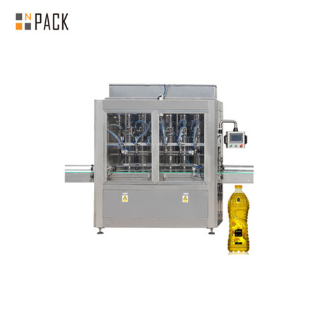 چھوٹی بوتل کھانا پکانے کے تیل کو بھرنے اور کیپنگ لیبلنگ مشین
