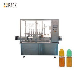 چھوٹی شیشی کی بوتل کے لئے پیرسٹالٹک پمپ مائع بھرنے والی مشین