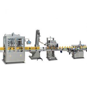 زیتون کا تیل بنانے کے ل 1 1 خود بخود 2 بوٹ بھرنے والی مشینیں 2