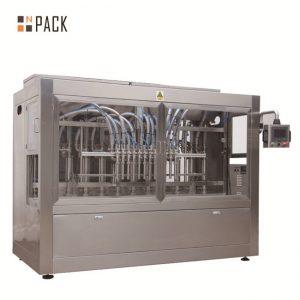 خودکار 8 بھرنے والے نوزلز مائع / پیسٹ / چٹنی / شہد بھرنے والی مشین