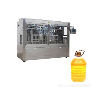 کولڈ پریسڈ زیتون کا تیل / بلینڈ آئل بھرنے والی لیبلنگ مشین