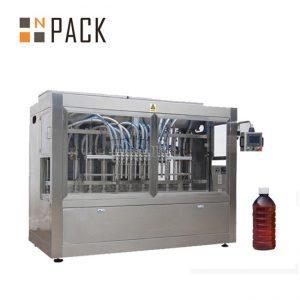 خود کار طریقے سے کھانا پکانے کے تیل بھرنے والی مشین ساس جام شہد بھرنے والی کیپنگ مشین